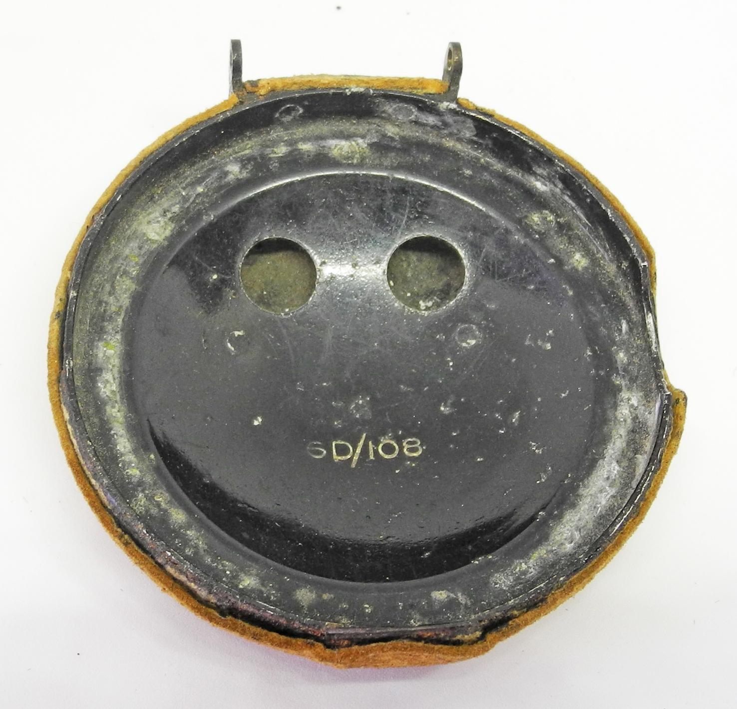 RAF D mask end cap