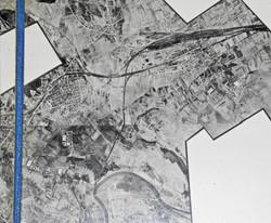 RAF intelligence photo target map