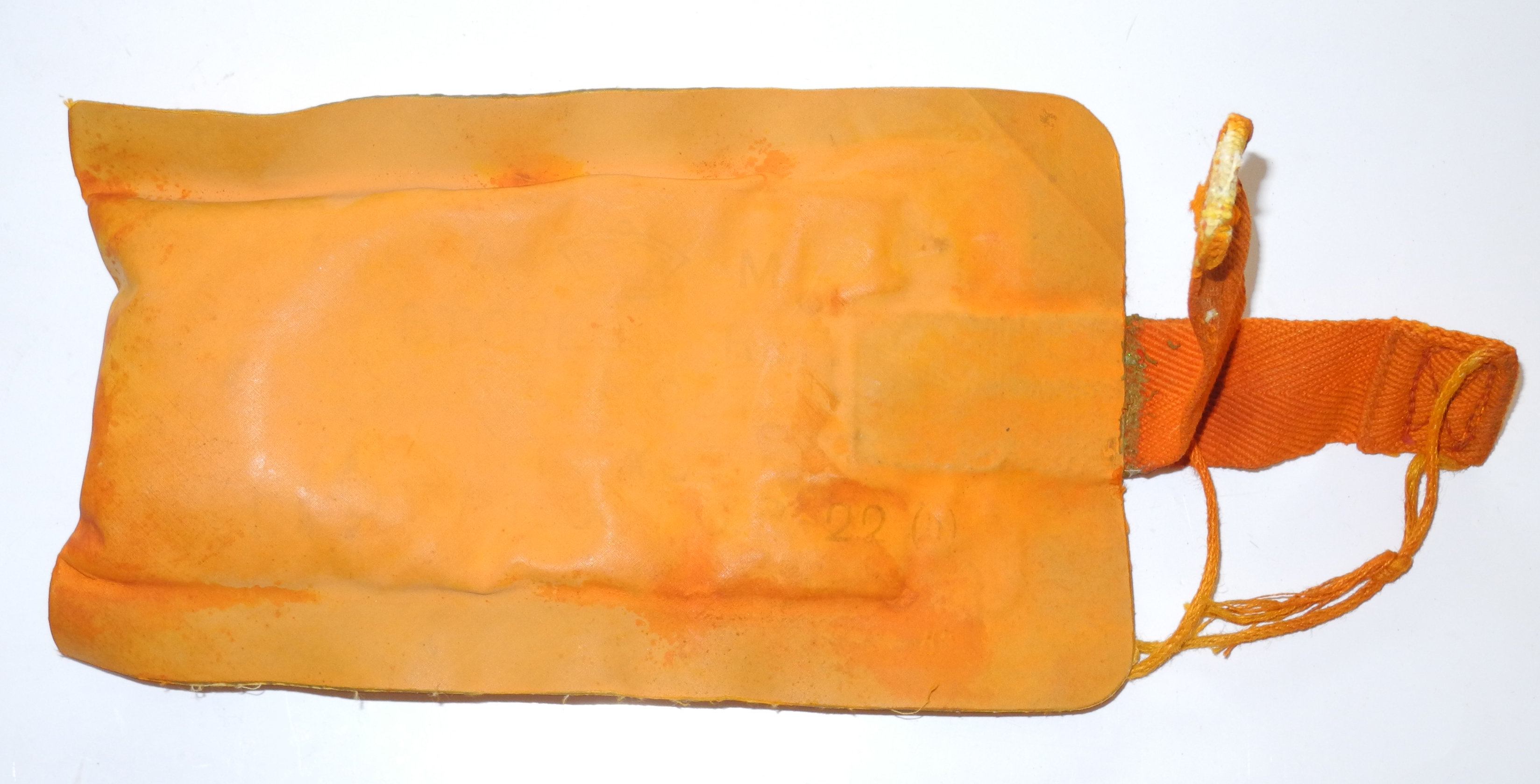 RAF 1941 Pattern Life Vest dye marker pouch
