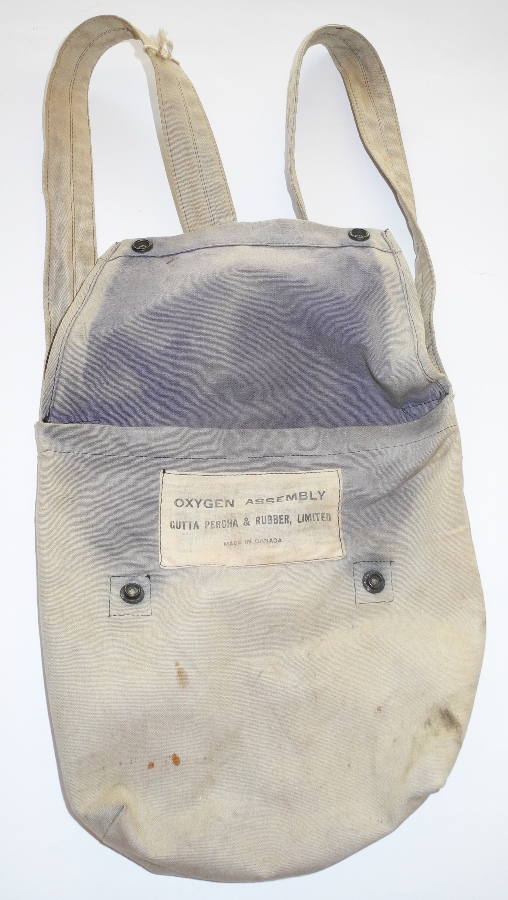 RCAF GPR Oxygen Mask stowage bag9