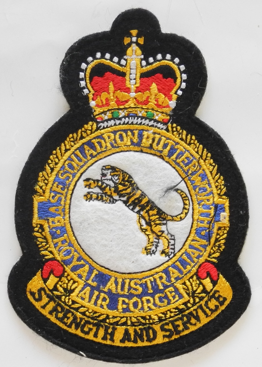 RAAF flight suit patch Butterworth
