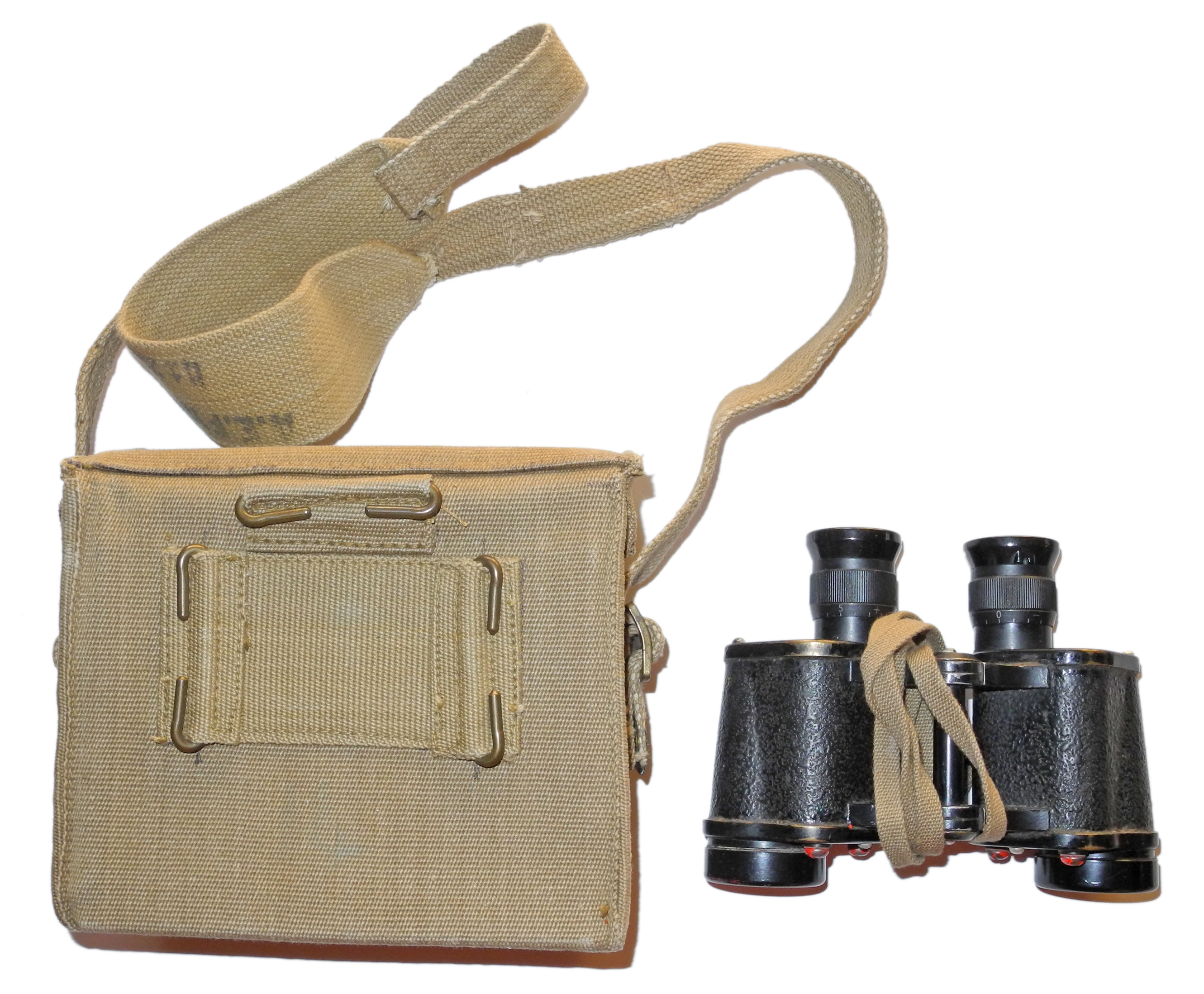 British service issue Prism Binoculars No. 2 Mk III