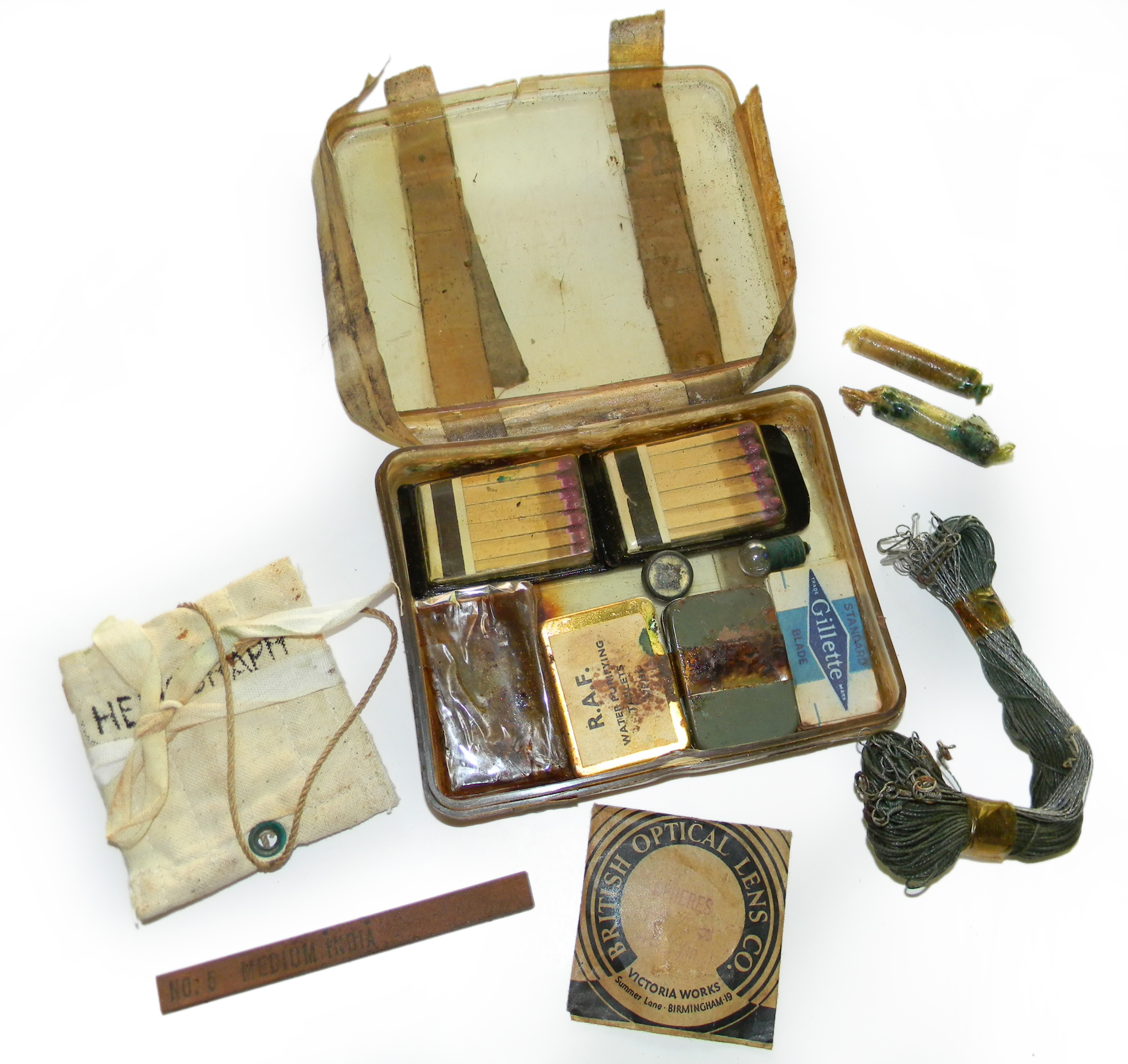 RAF escape ration box third type