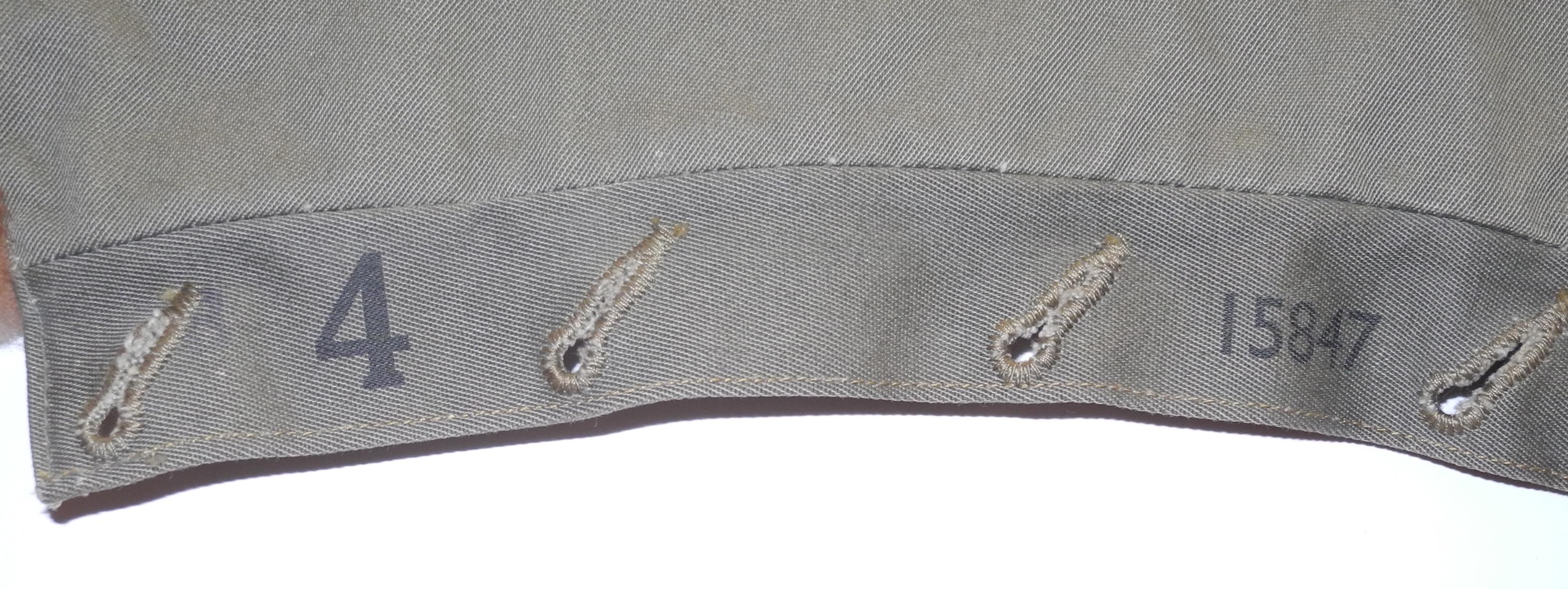 RAF 1940 pattern Sidcot suit detachable collar