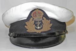1930s Royal Navy officers cap