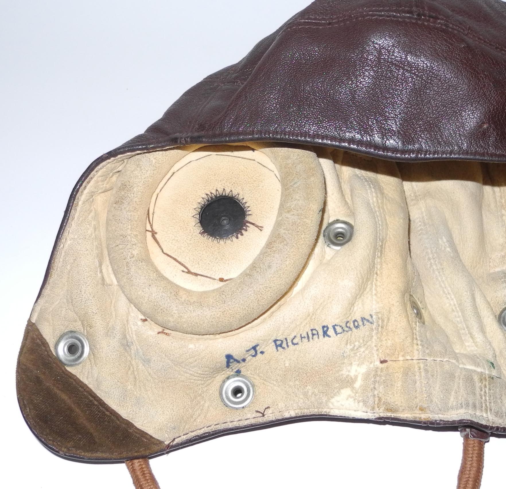 RN FAA Type C helmet internally wired