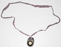 RAF escape compass in waterproof pouch worn around the neck