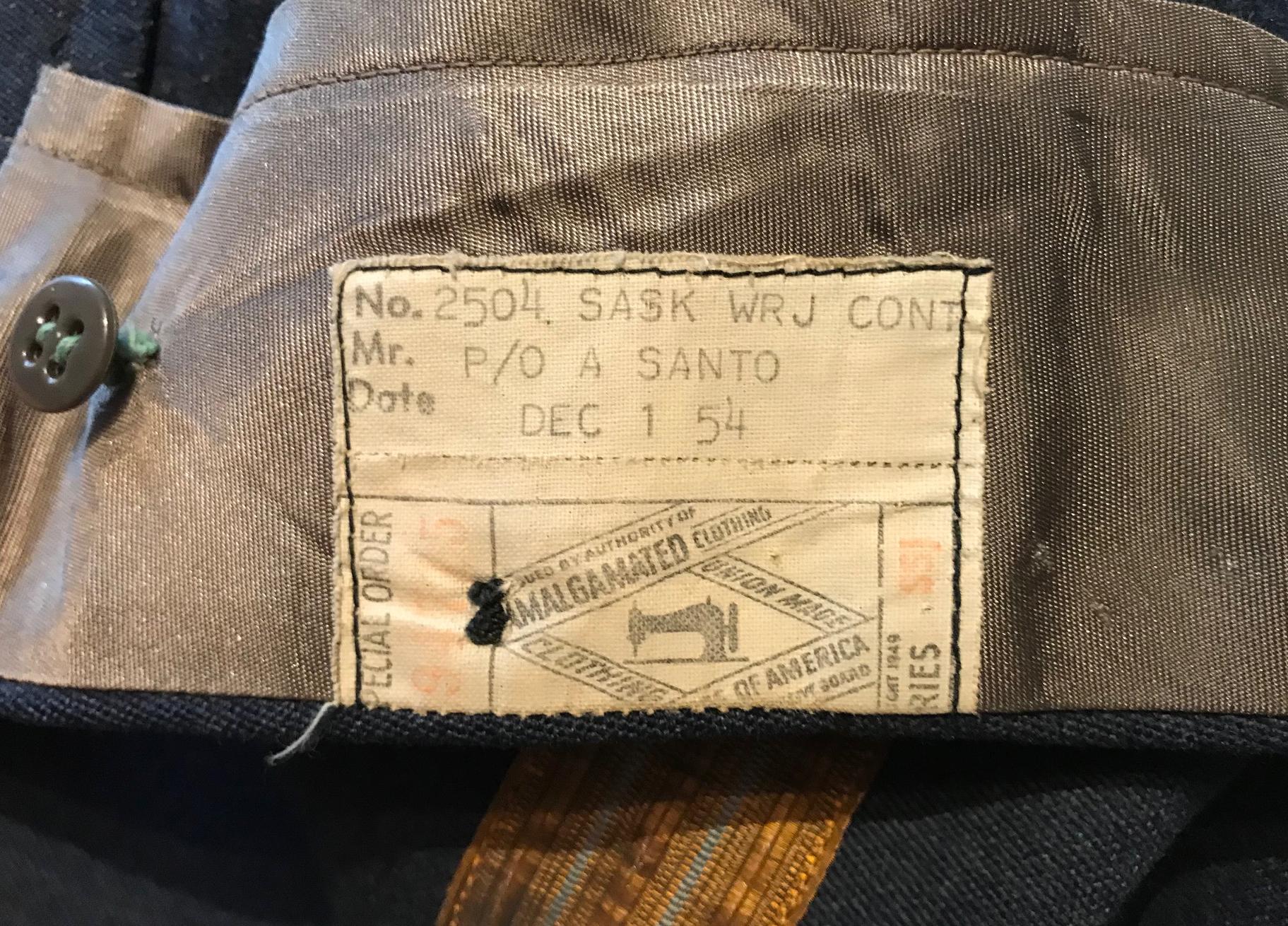 RAF 1950s full dress uniform trousers