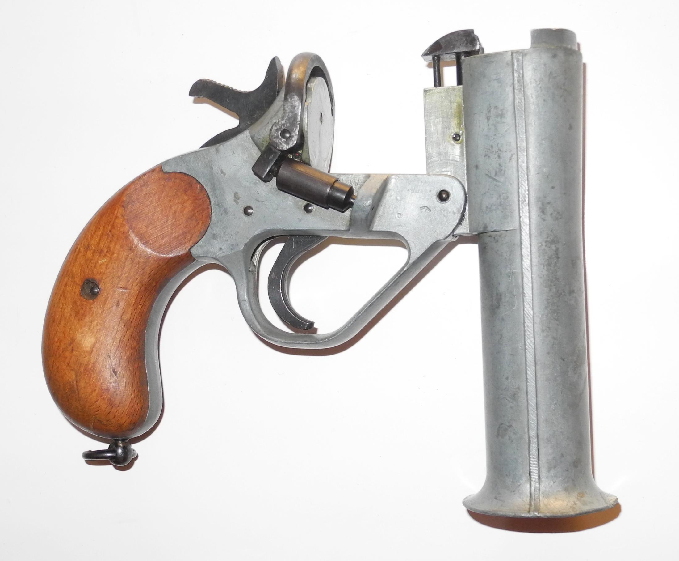 Flare pistol No. 1 Mk IV