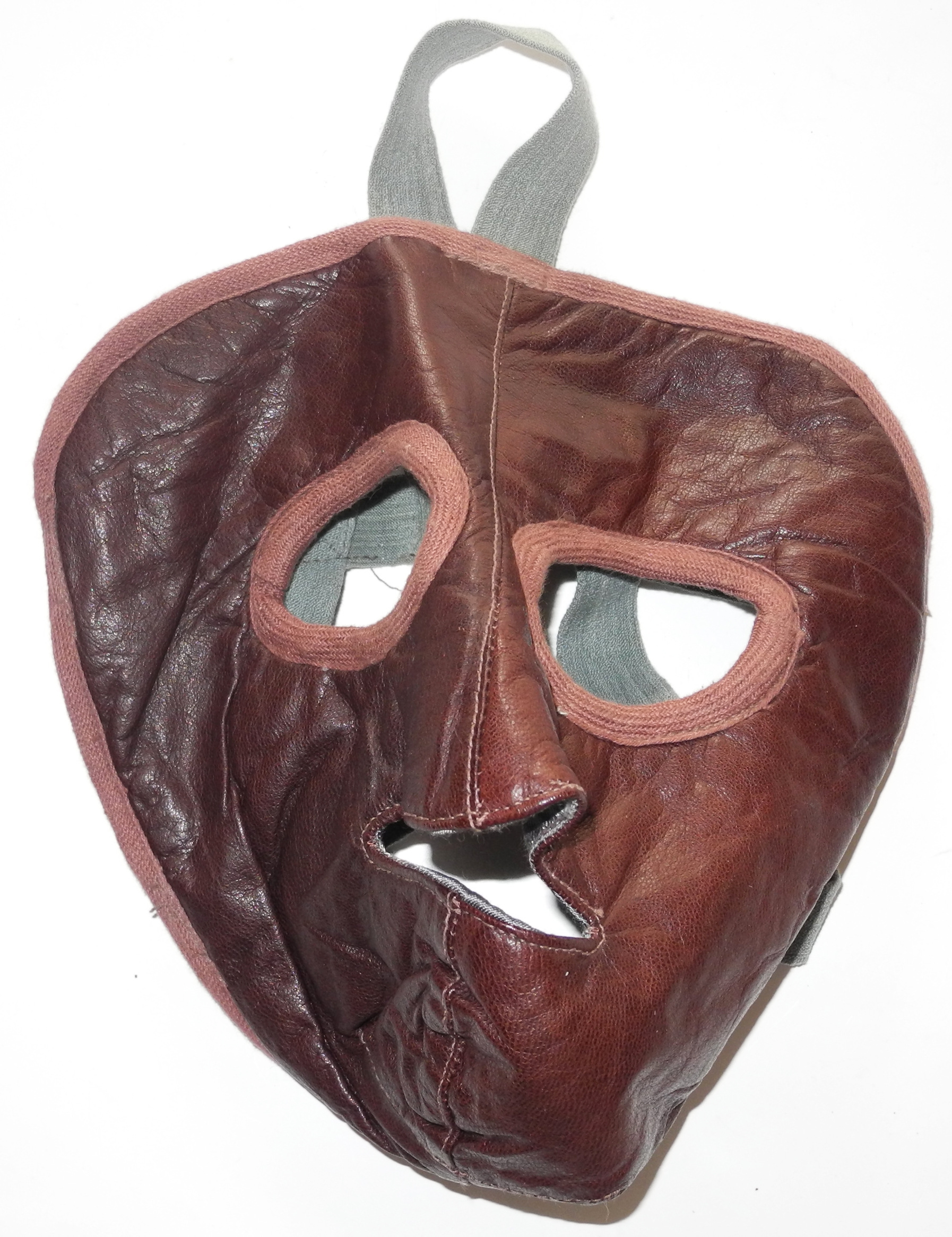 WWII Soviet Air Force cold weather facemask