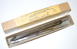 AAF Navigator's drawing compasses, box of 2