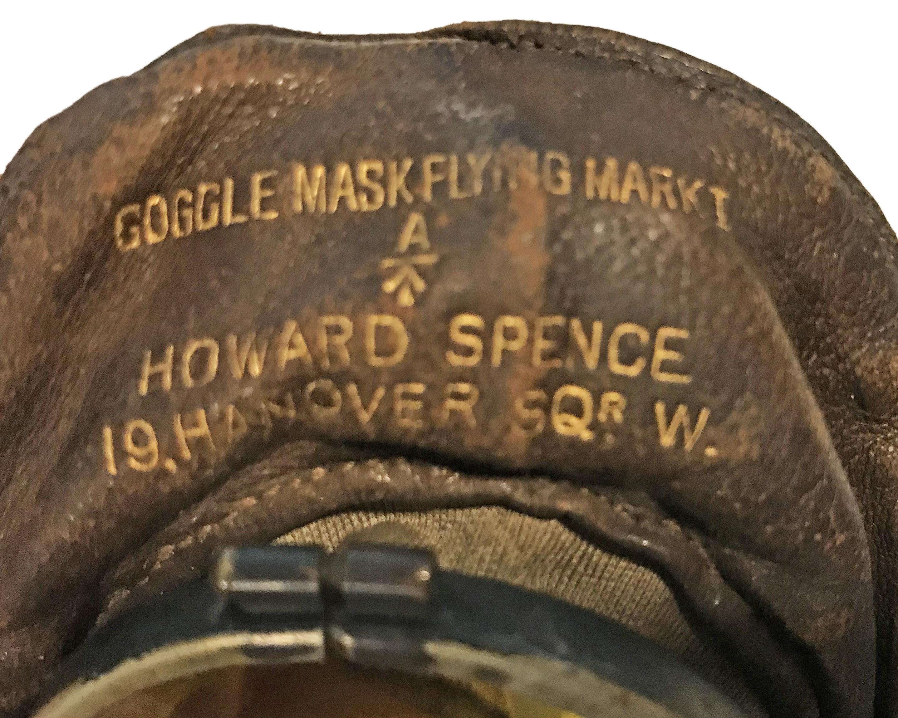 RFC Mk I Goggle Mask by Howard Spence