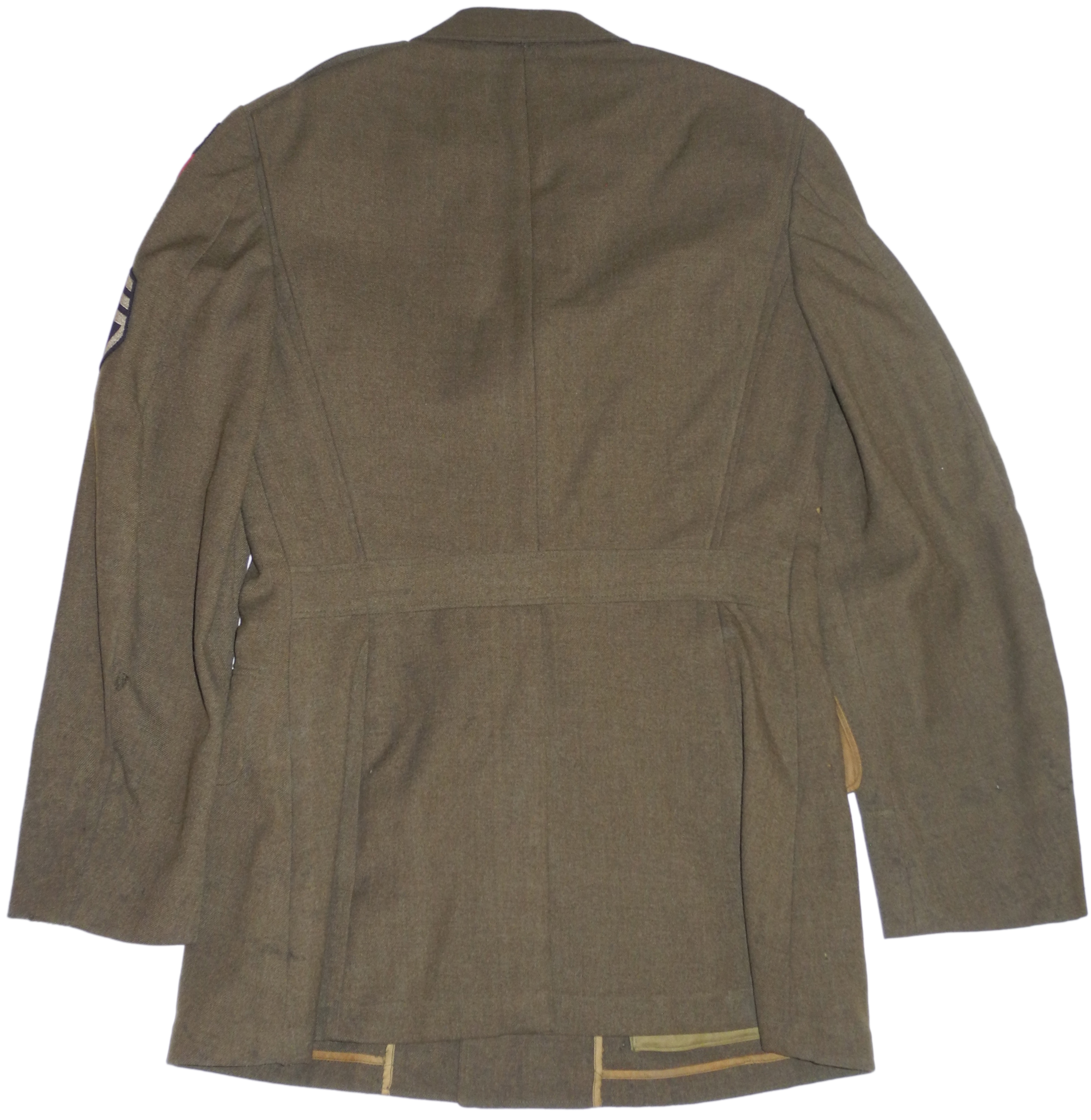 AAF enlisted tunic to sergeant CBI