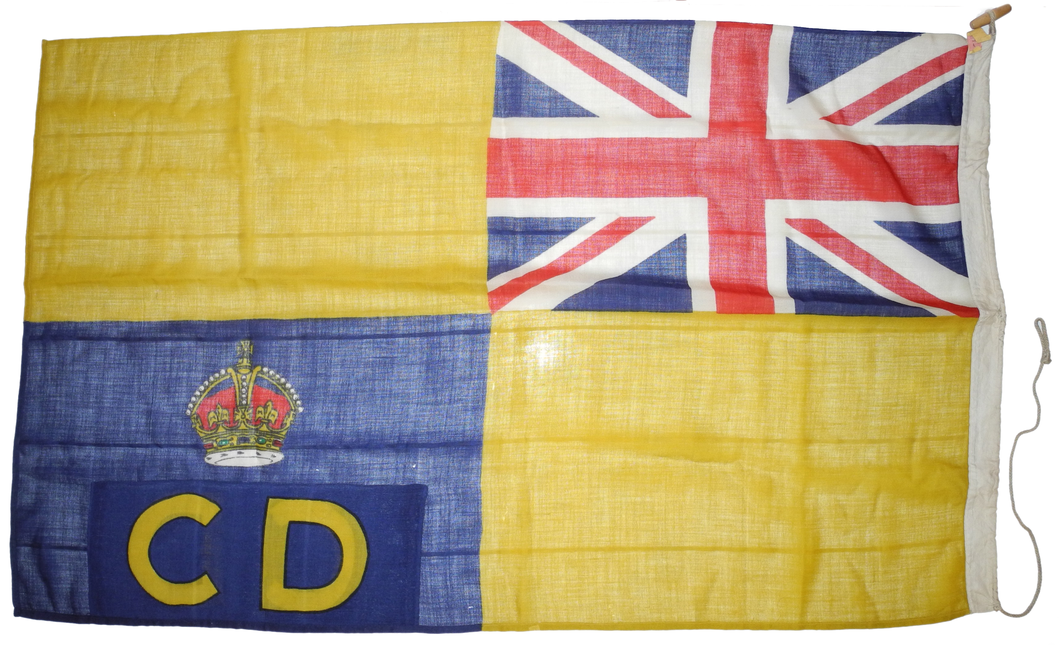 WWII Civil Defence HQ flag