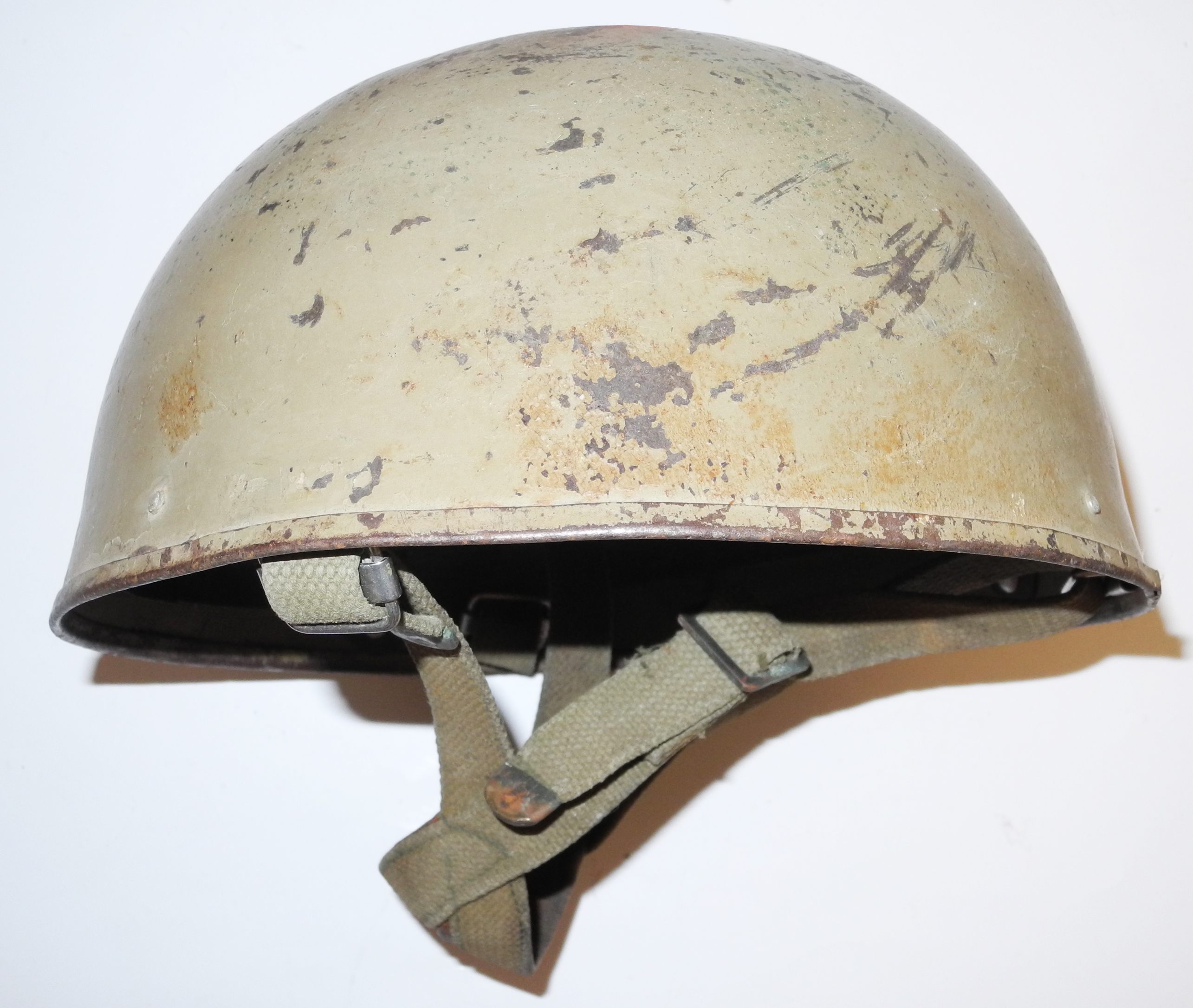 Cold War British/NATO Paratrooper helmet