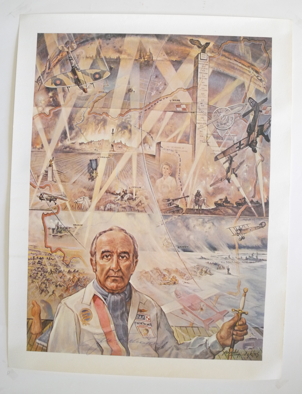 Falkowski signed poster