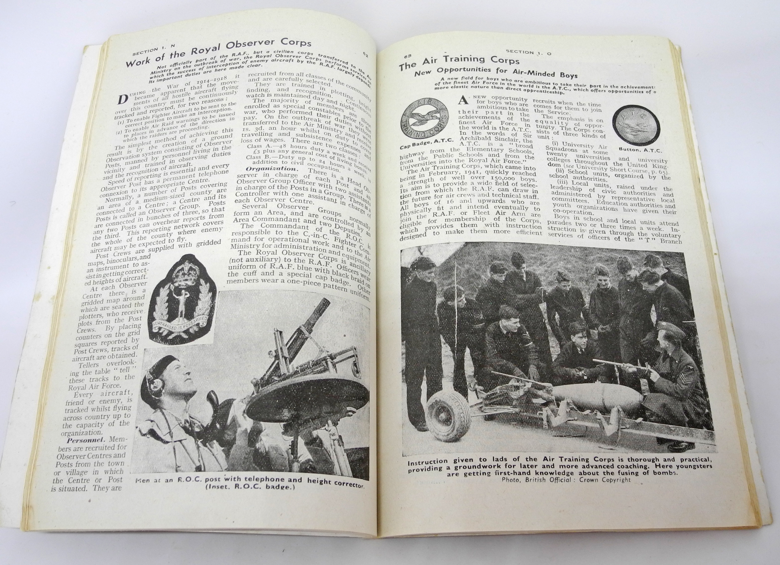 ABC of the RAF book 1943