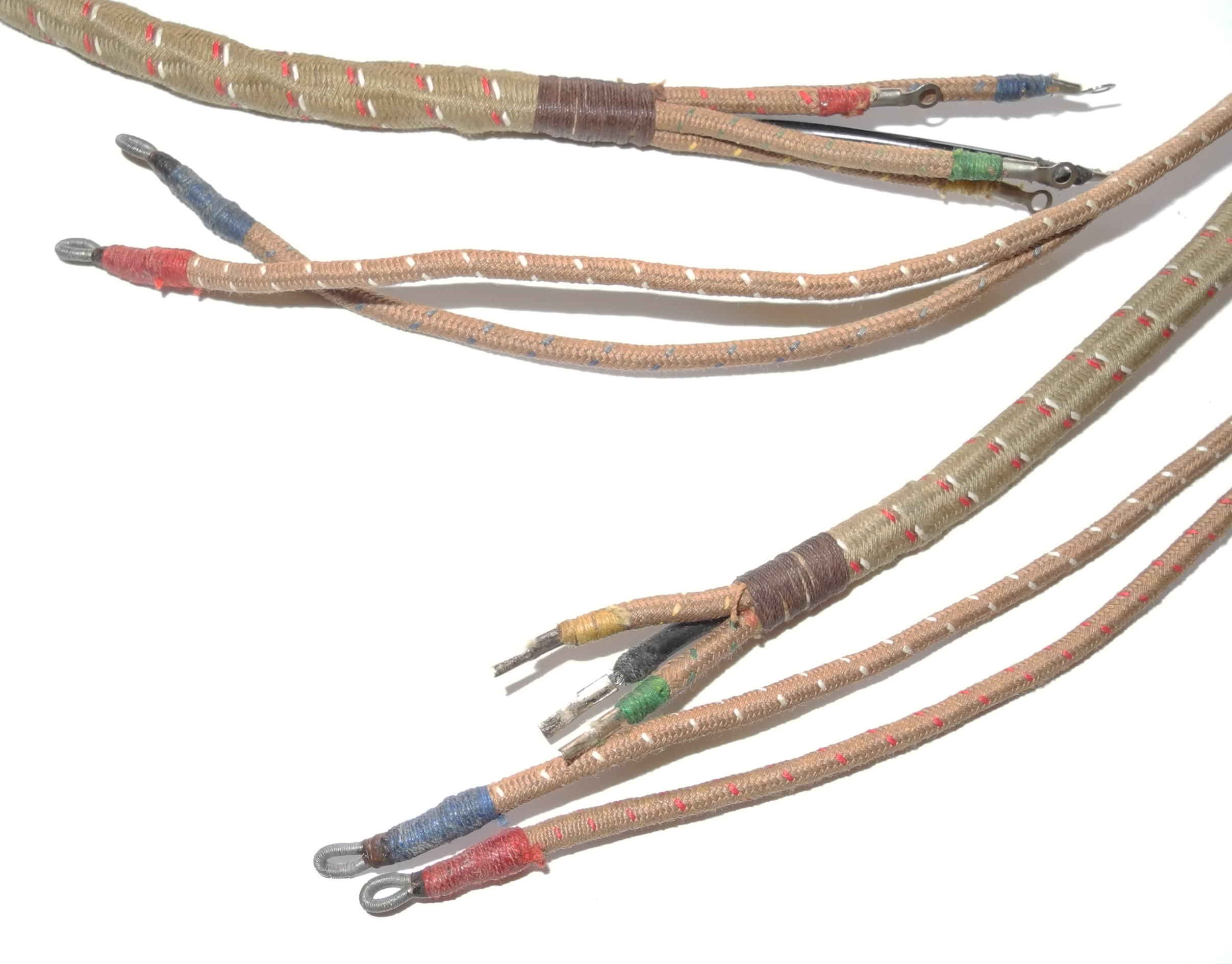 WWII RAF internal wiring loom