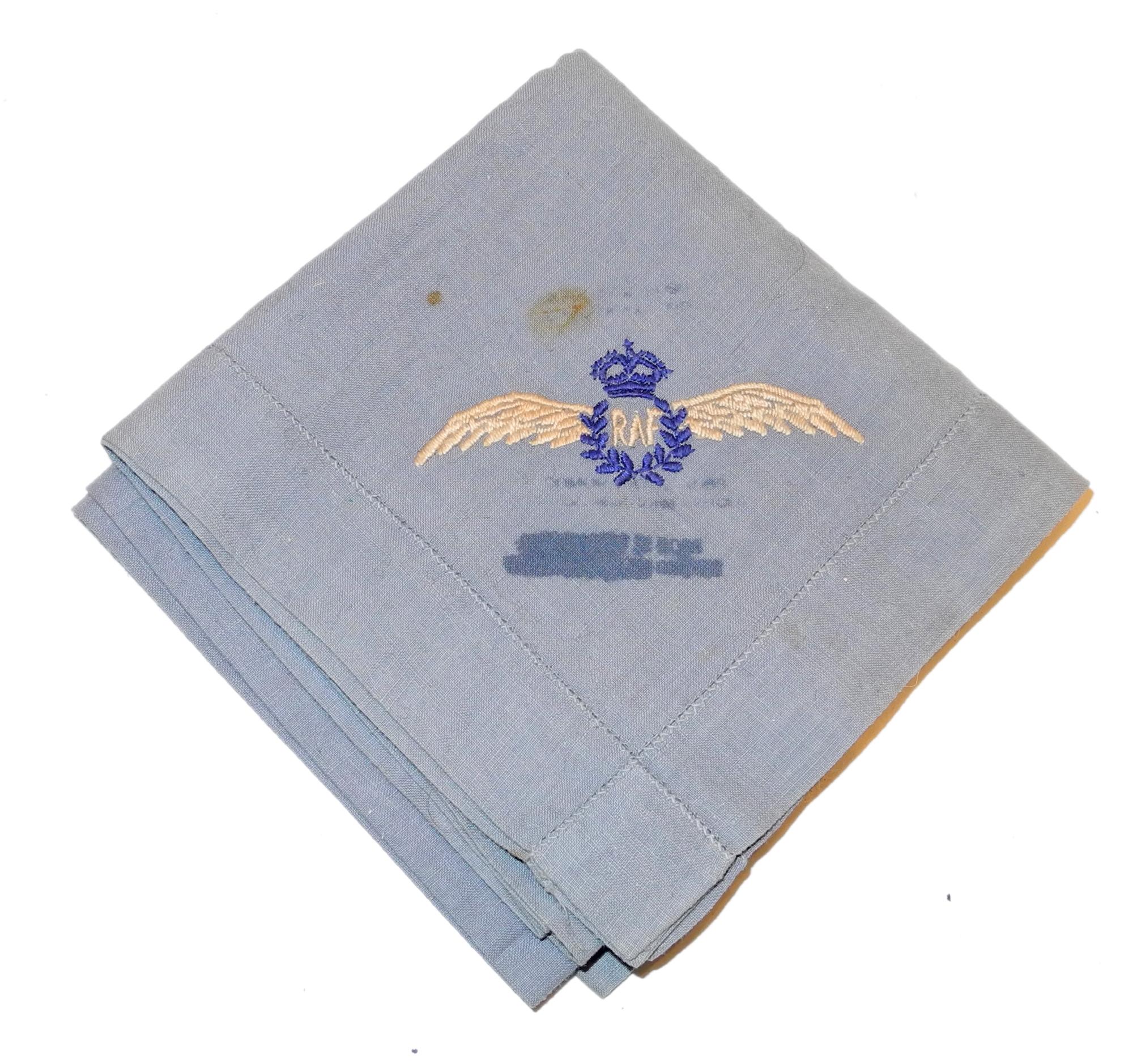 RAF pilot's handkerchief