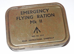 RAF Emergency Flying Ration Mk II tin only