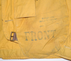 "RCAF 1932 Pattern Life Vest ""Mae West""0"