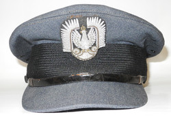 WWII Polish Air Force officer's cap