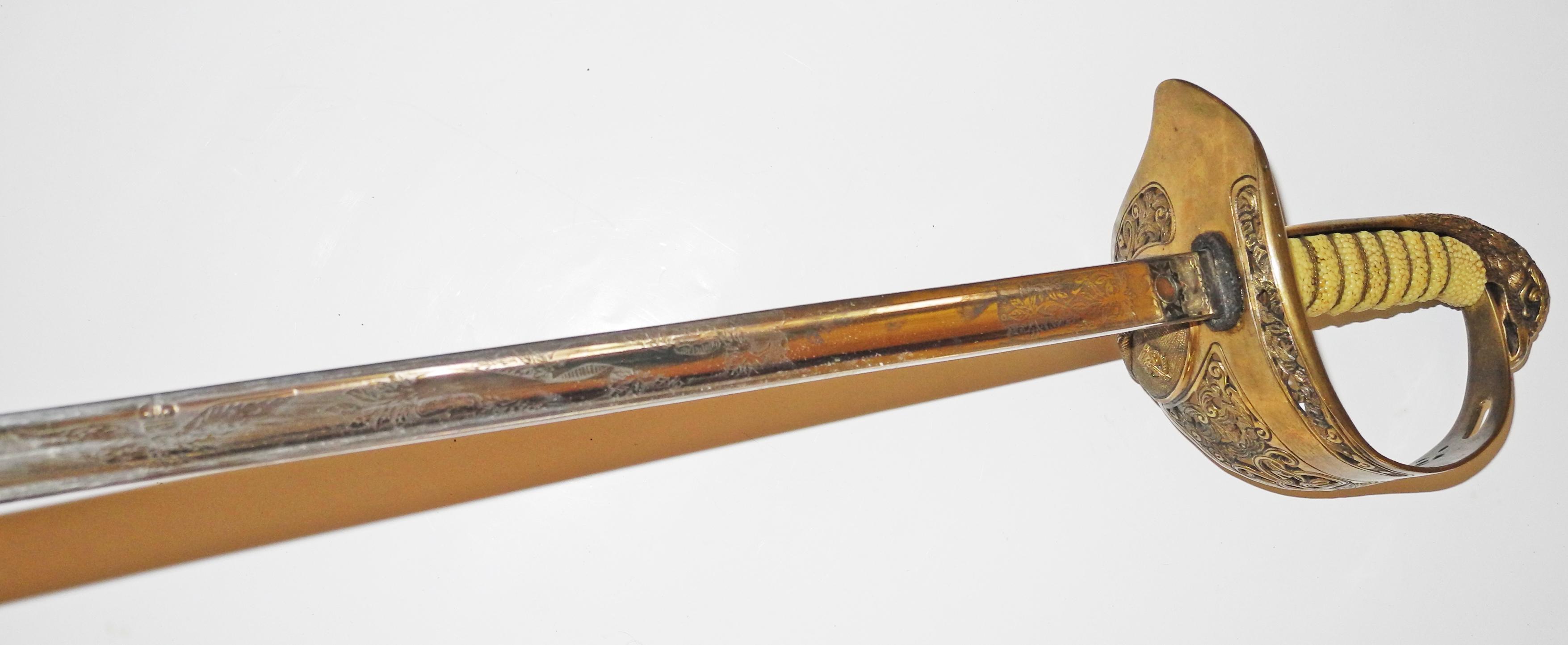 WWII George VI RAF dress sword