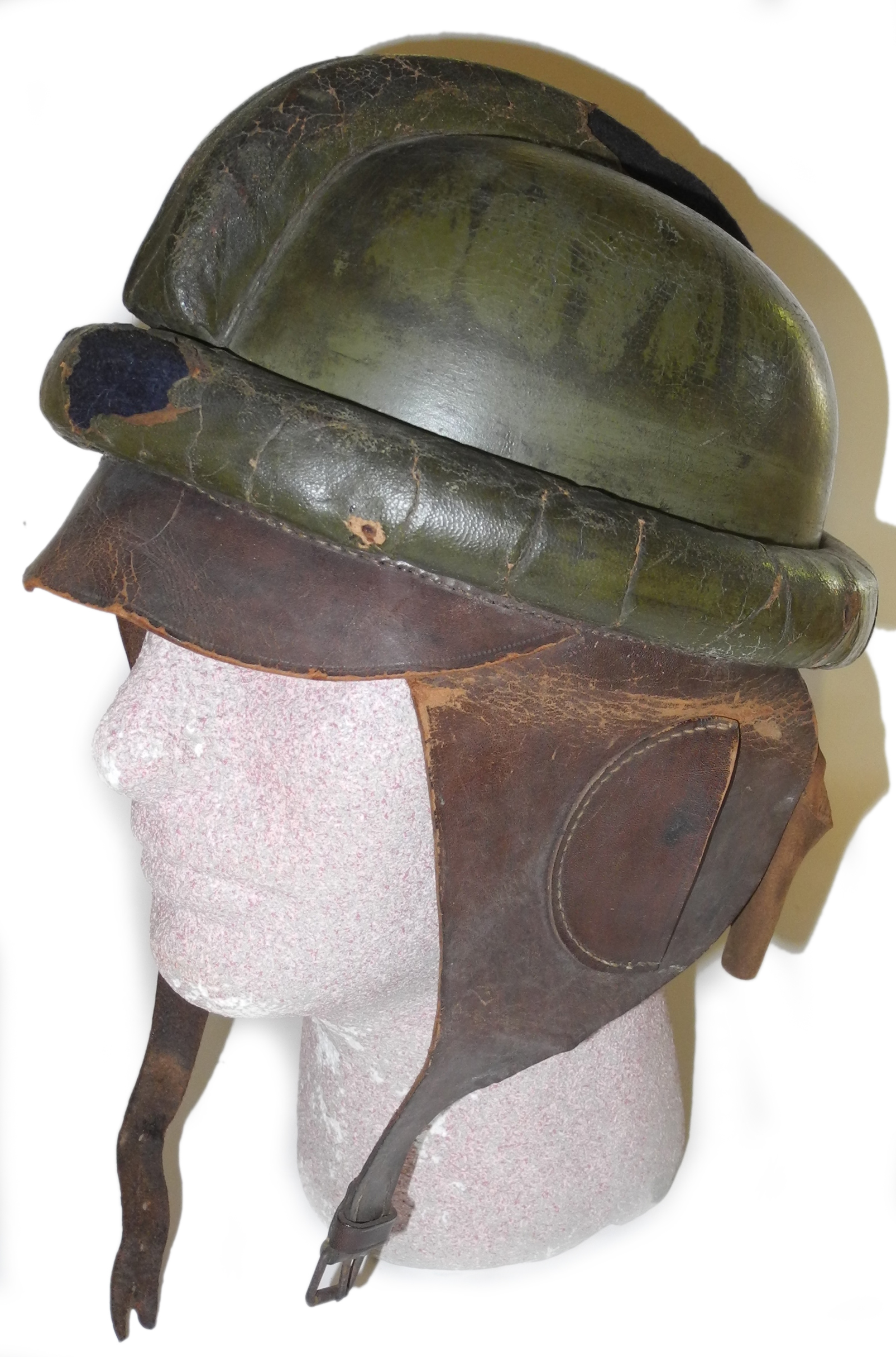 WWI Imperial German flying helmet