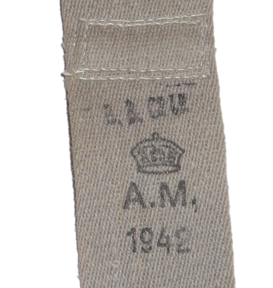 RAF trouser braces dated 1942N6689