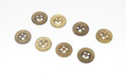 Brass trouser button