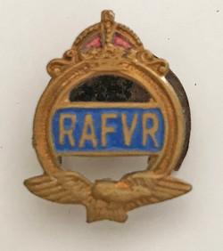 WWII RAF VR lapel pin
