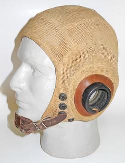 "RCAF late war summer ""mesh"" flying helmet"