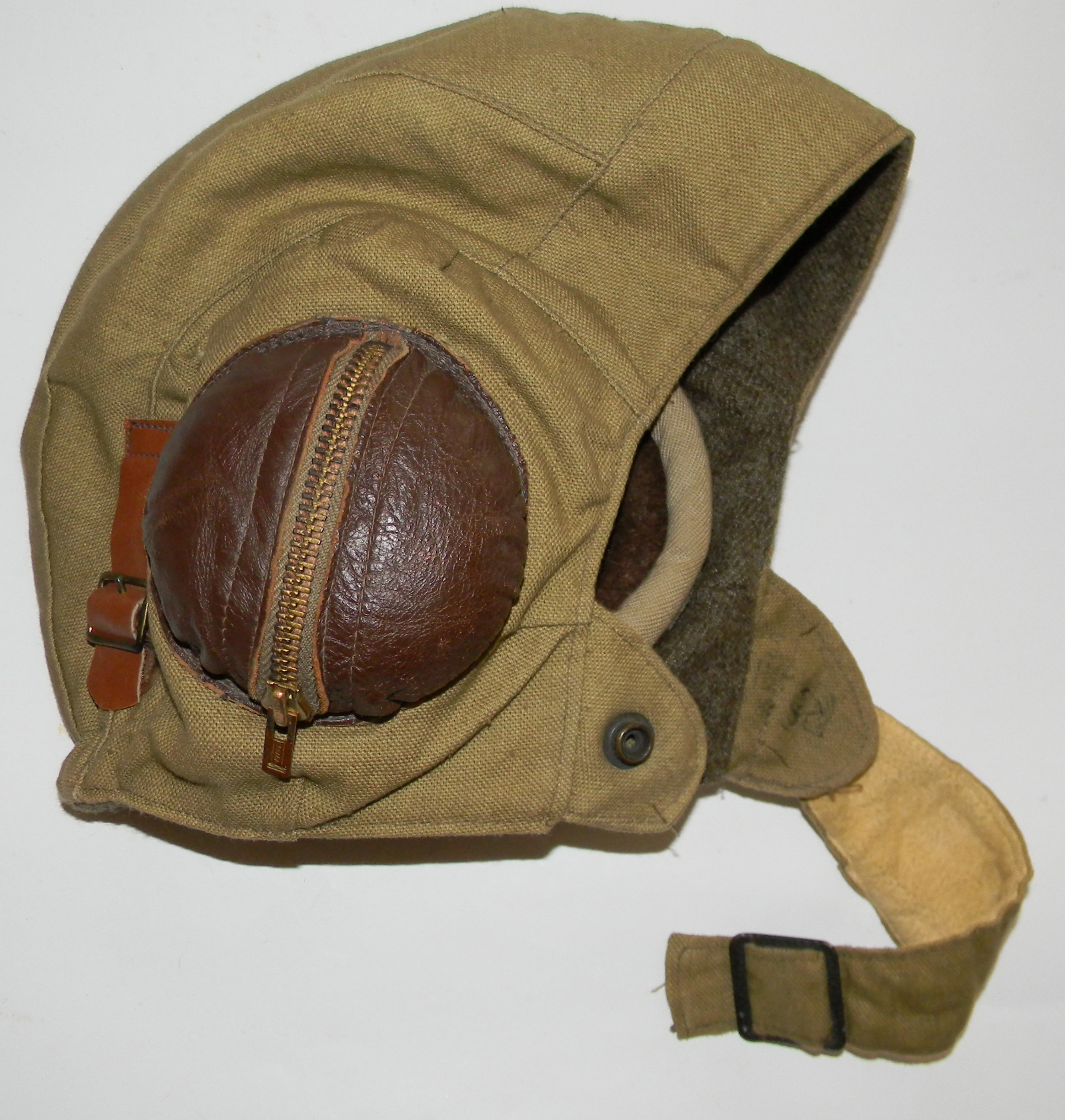 RCAF / RCN flying helmet late WWII