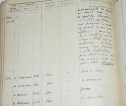 RAF Fighter Pilot Log Book battle of Britain 229 Squadron