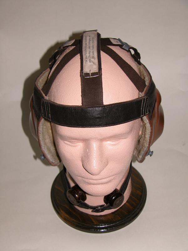 Luftwaffe skeleton helmet with sizes