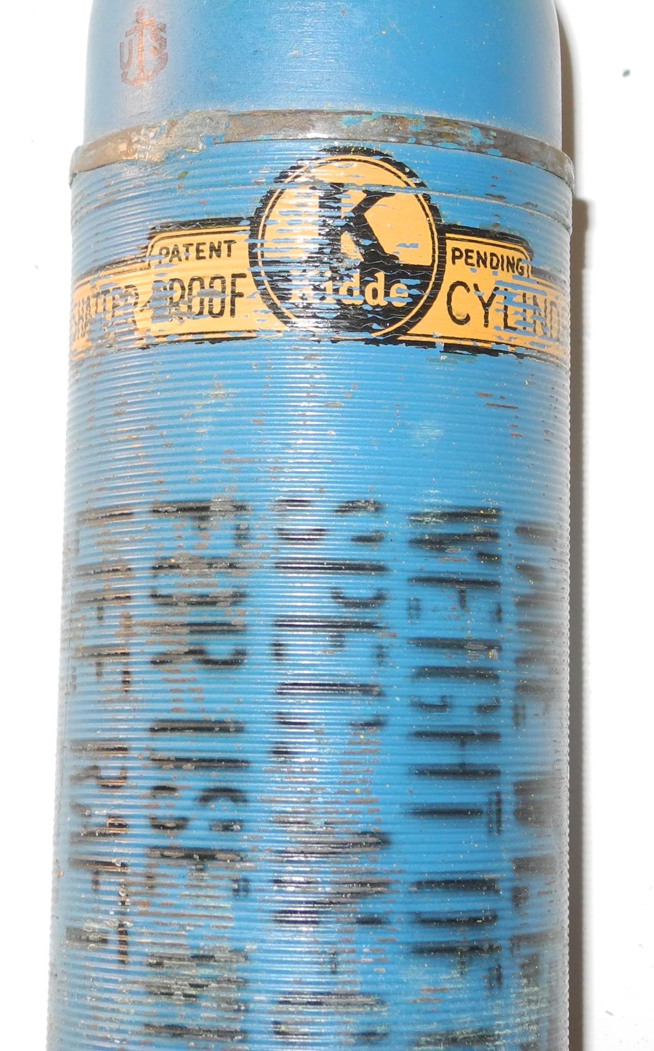 USN life raft CO2 inflation bottle
