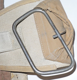 RAF Type S2 Seat Type parachute harness, pack and D-ring/ripcord