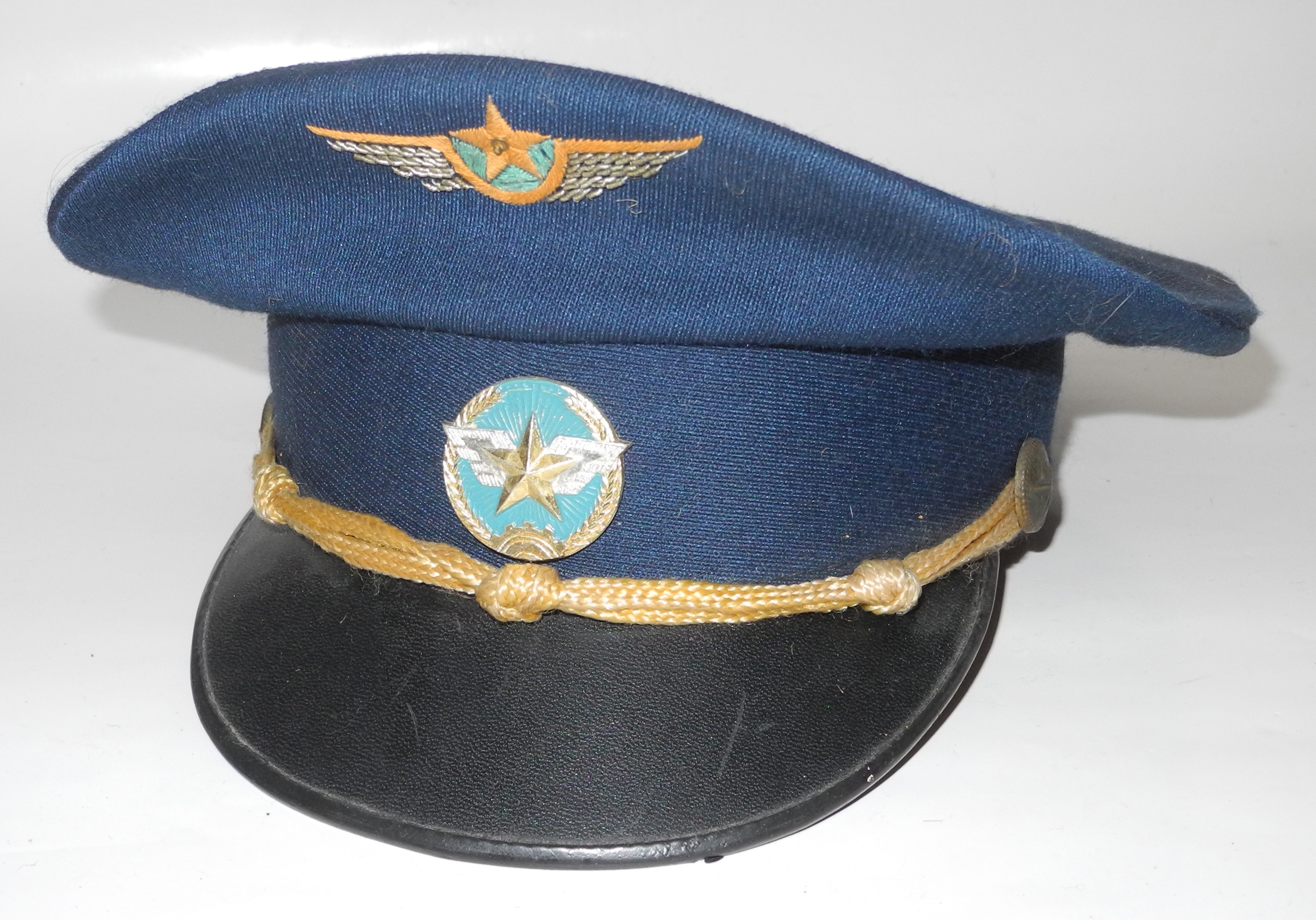 USSR Soviet Air Force enlisted parade visor cap