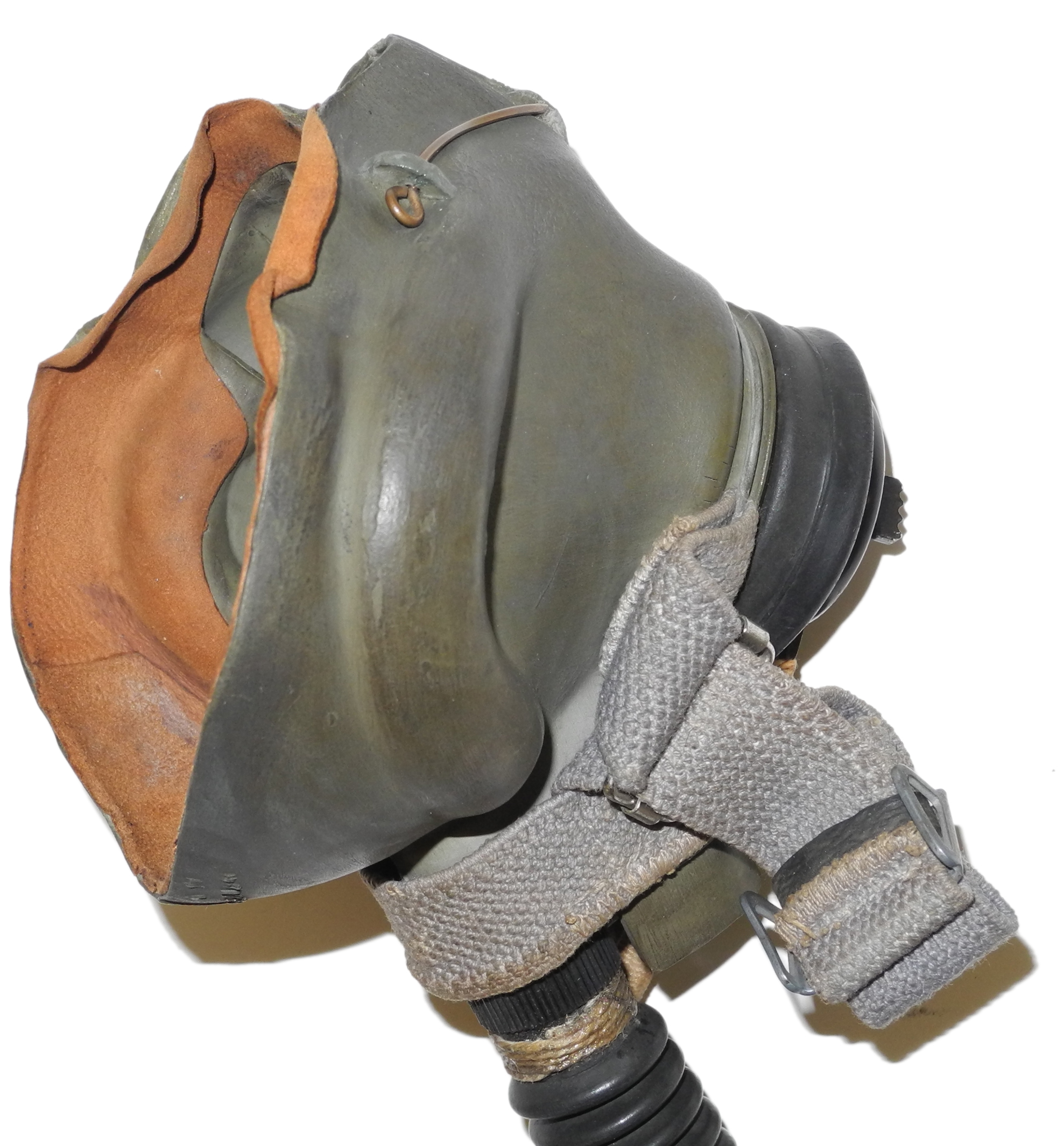 RAF G mask with narrow hose