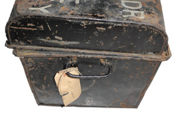 RAF tin trunk to DFC ace $95