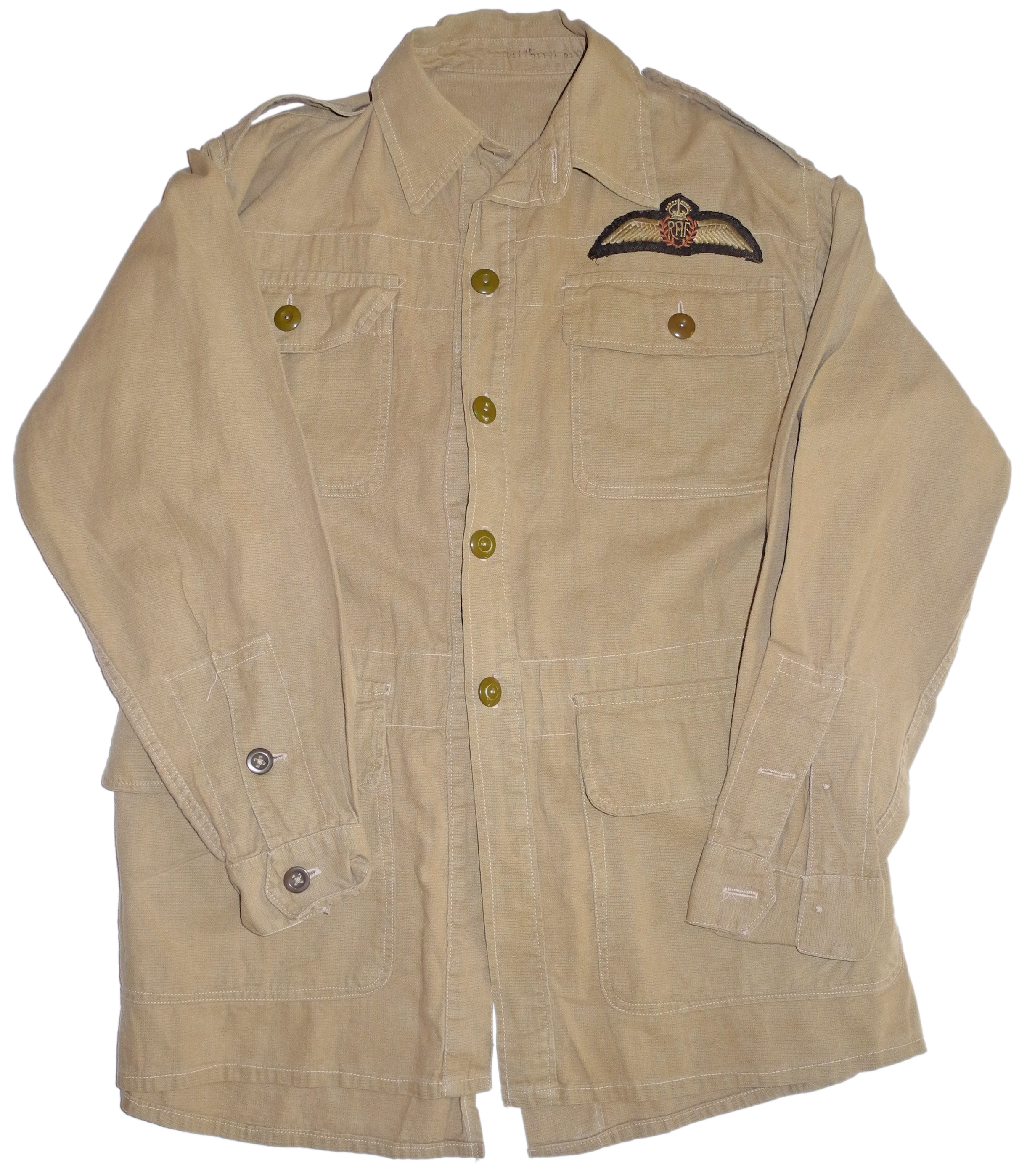 RAF Bush Shirt with pilot wing