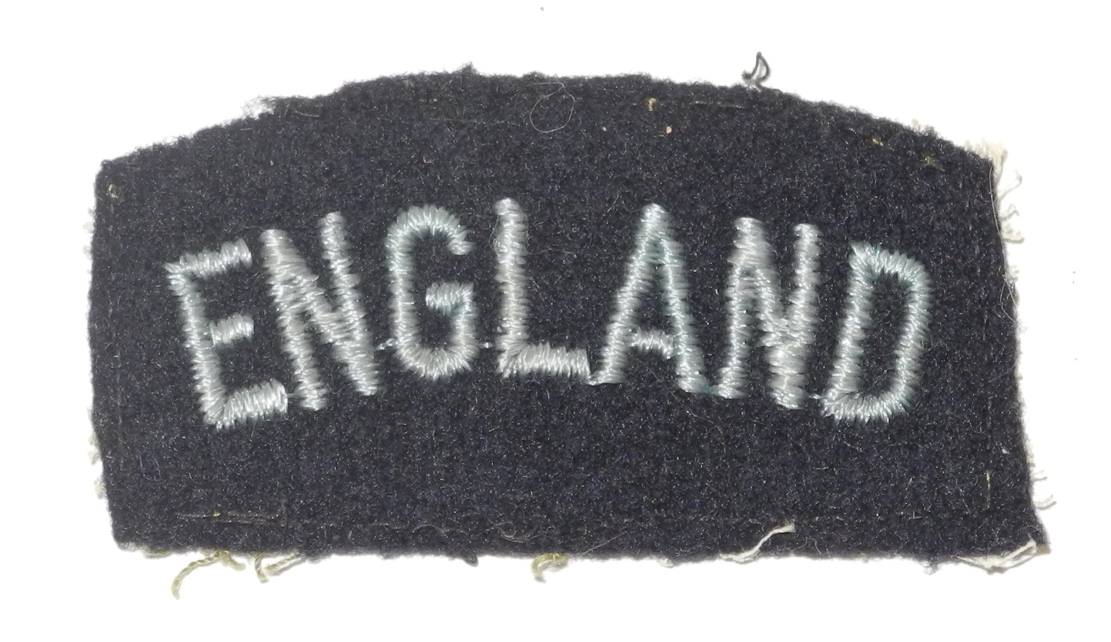 "RAF ""England"" shoulder title"