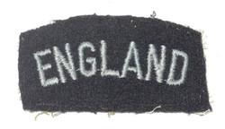 """RAF """"England"""" shoulder title"""