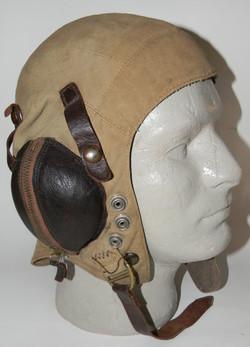 Royal Navy tropical flying helmet