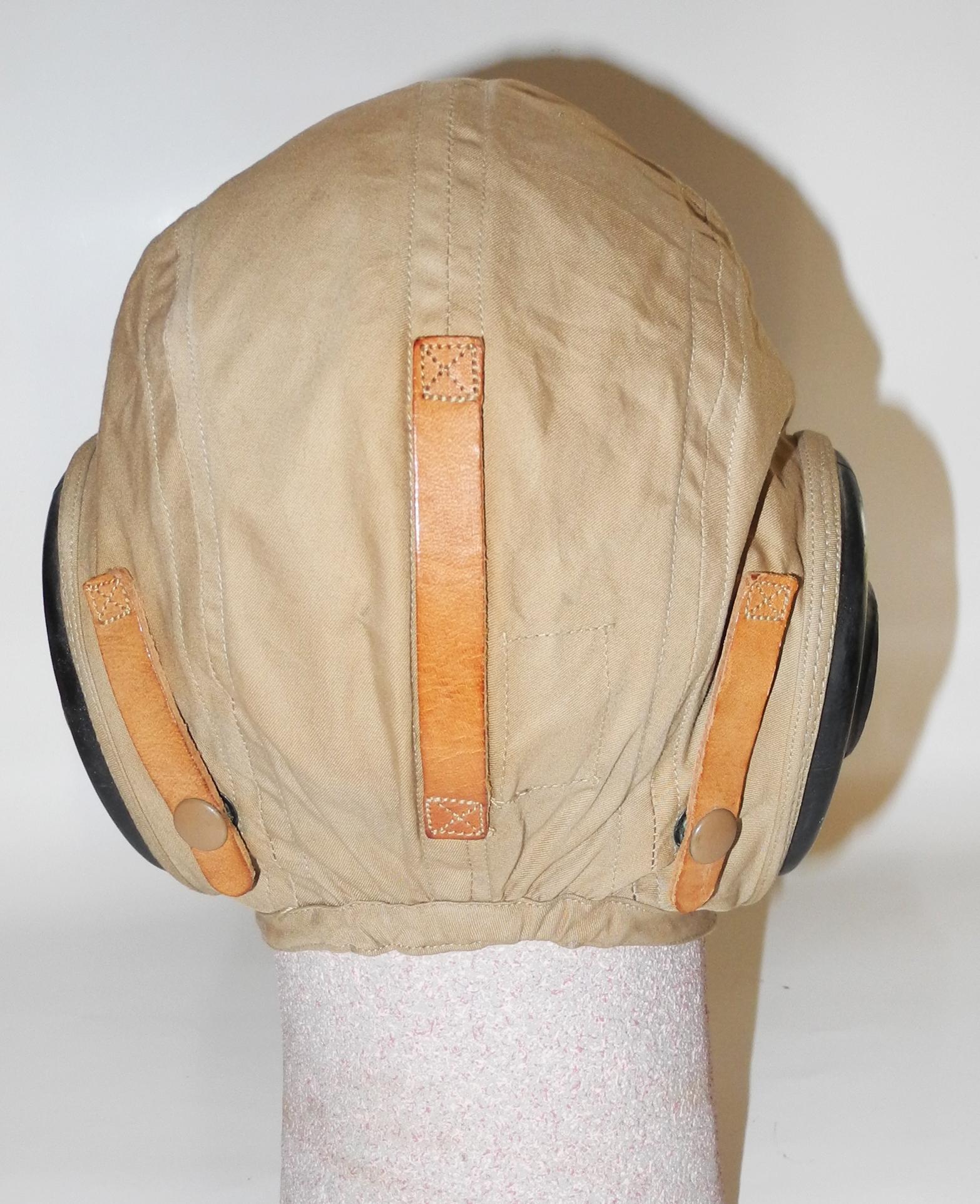 AAF A-H-15 summer flying helmet