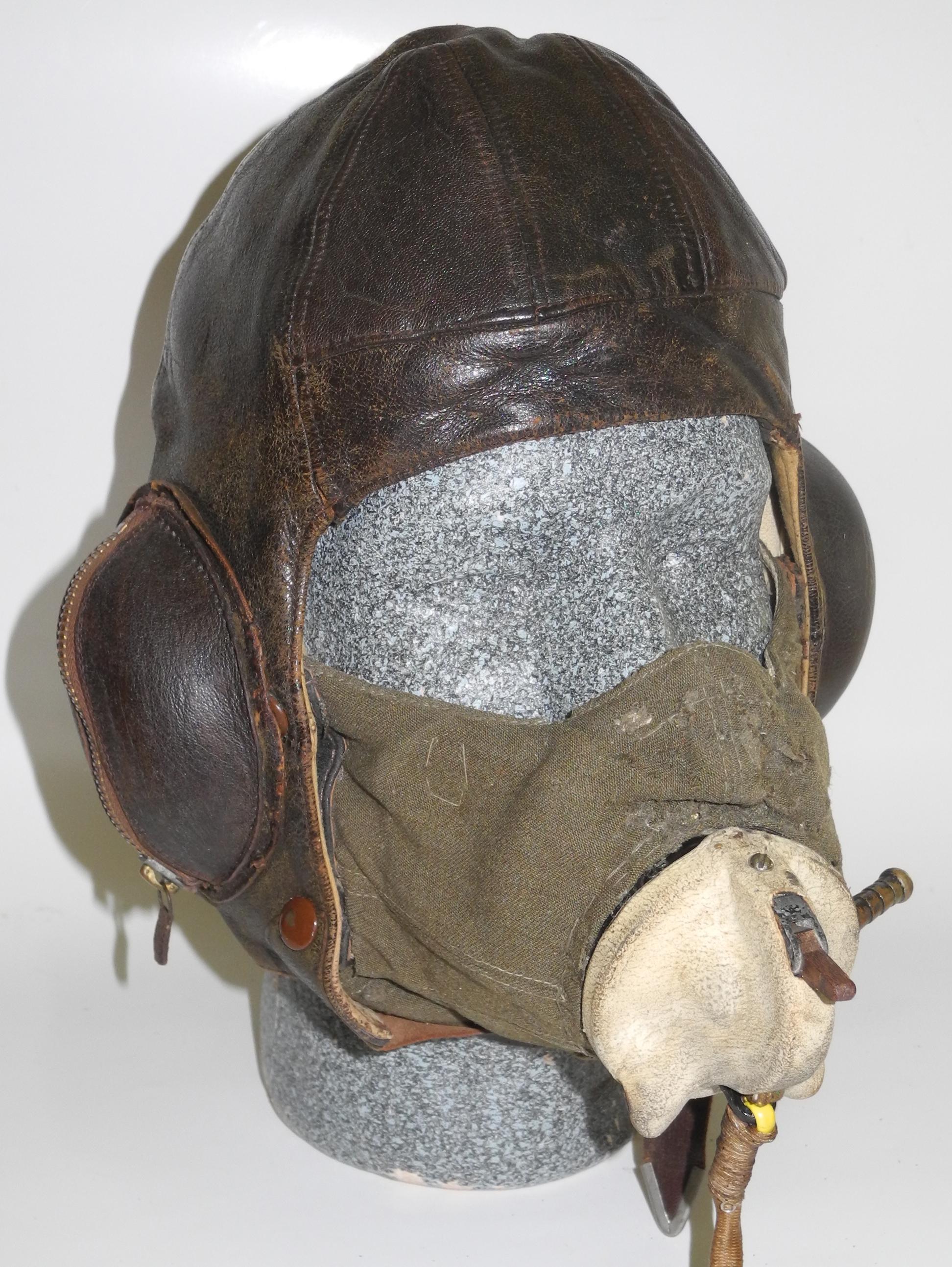 RAF Type D mask+ Type E mic.