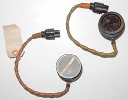 RAF mask microphone Type 48 (x2)