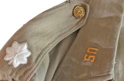 AAF CBI pilot's custom made tan cotton shirt2