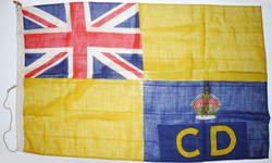 WWII Civil Defence HQ flag