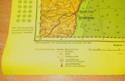 Luftwaffe target map SCOTLAND